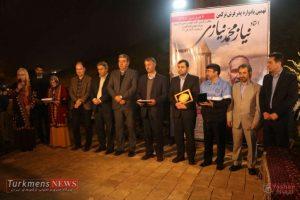 TurkmensNews Yadvareh 36 300x200 - یادواره پدر فرش ترکمن استاد نیاز محمد نیازی در جوار گنبدقابوس برگزار شد+تصاویر