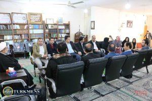 Vahdat Turabi TurkmensNews 2 300x200 - با انجام کارهای عملی و کاربردی به تقویت وحدت در منطقه و جهان اسلام کمک کنیم