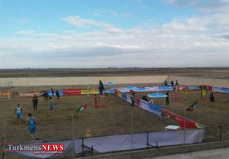 Volley G 11A - آغاز مسابقات والیبال ساحلی قهرمانی کارگران کشور در گنبدکاووس