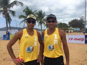 Volleyboll 22F 300x225 - صعود تیم ملی والیبال ساحلی ایران به مرحله نیمه نهایی مسابقات تور جهانی تایلند