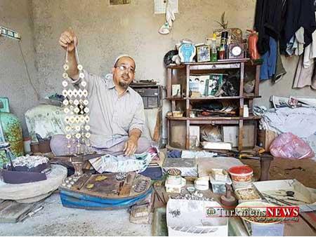 Zivaralat 22 Sh - روزگار آخرین بازمانده از نسل سازندگان زیورآلات ترکمن