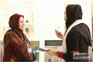 Zoleikha Kor 1 22Az 300x201 - تفاهمنامه همکاری بانوی ترکمن با مرکز گفتمان صلح برای همه