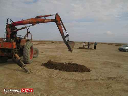 abgir 17e - ایجاد 2500 آبگیر در مراتع شمال آق قلا برای جمع آوری آب باران