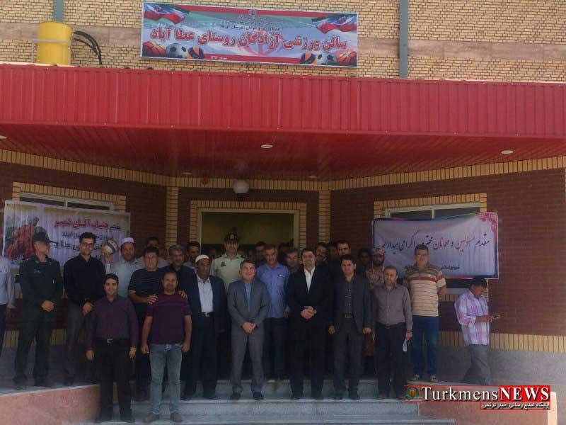aghghalav 2m - پروژه های ورزشی شهرستان آق قلا افتتاح شد