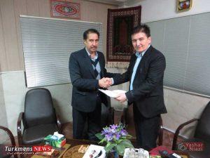 aghpoor1 turkmennews 300x225 - آنه محمد آقپورقابوس به سمت قائم مقام هیات سوارکاری گنبد کاووس معارفه شد