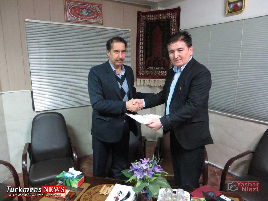 aghpoor1 turkmennews - آنه محمد آقپورقابوس به سمت قائم مقام هیات سوارکاری گنبد کاووس معارفه شد