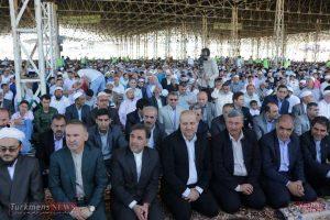 aid kalale 1 300x200 - وزیر راه و شهر سازی در نماز عید فطر کلاله شرکت کرد+تصاویر
