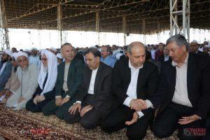 aid kalale 10 300x200 - وزیر راه و شهر سازی در نماز عید فطر کلاله شرکت کرد+تصاویر