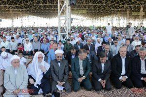 aid kalale 4 300x200 - وزیر راه و شهر سازی در نماز عید فطر کلاله شرکت کرد+تصاویر