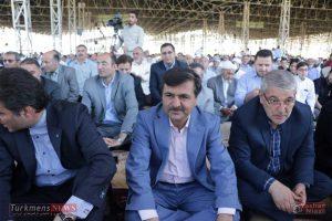 aid kalale 5 300x200 - وزیر راه و شهر سازی در نماز عید فطر کلاله شرکت کرد+تصاویر