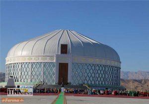 alachigh1 300x209 - افتتاح تالار آلاچیق نوروز در ترکمنستان  + تصاویر