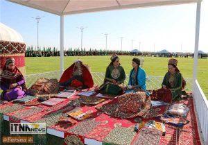 alachigh3 300x209 - افتتاح تالار آلاچیق نوروز در ترکمنستان  + تصاویر