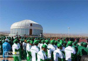 alachigh5 300x209 - افتتاح تالار آلاچیق نوروز در ترکمنستان  + تصاویر