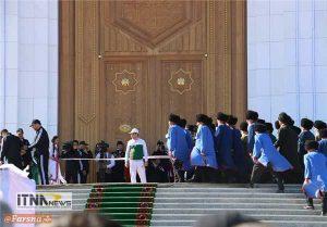 alachigh6 300x209 - افتتاح تالار آلاچیق نوروز در ترکمنستان  + تصاویر