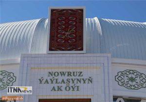 alachigh8 300x209 - افتتاح تالار آلاچیق نوروز در ترکمنستان  + تصاویر