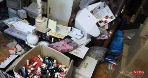 arayeshi 1sh - 140 هزار قلم لوازم بهداشتی غیرمجاز در گلستان کشف شد