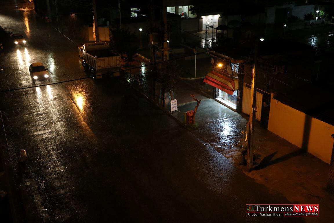 baran 4m - بارش باران درتمام شهرهای گلستان / دما در آخر هفته ۱۲ درجه کاهش مییابد