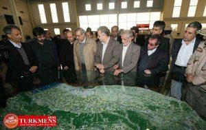 bazdid 28d 300x189 - دبیر شورای عالی مناطق آزاد و هیات همراه از اینچه برون در شرق گلستان بازدید کردند