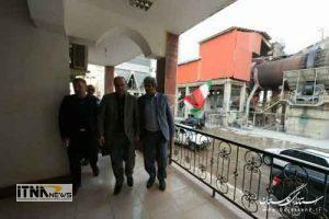 bazdid asfalt 300x200 - استاندار از کارخانه سیمان پیوند گلستان بازدید کرد