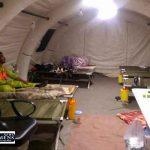 bimarestan 6azar 150x150 - راه اندازی بیمارستان صحرایی در مناطق محروم گمیشان