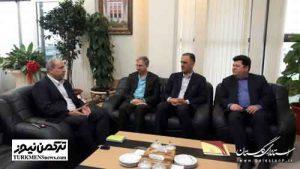 didar 2azar 300x169 - دیدار عضو هیات مدیره بانک ملی کشور با استاندار گلستان