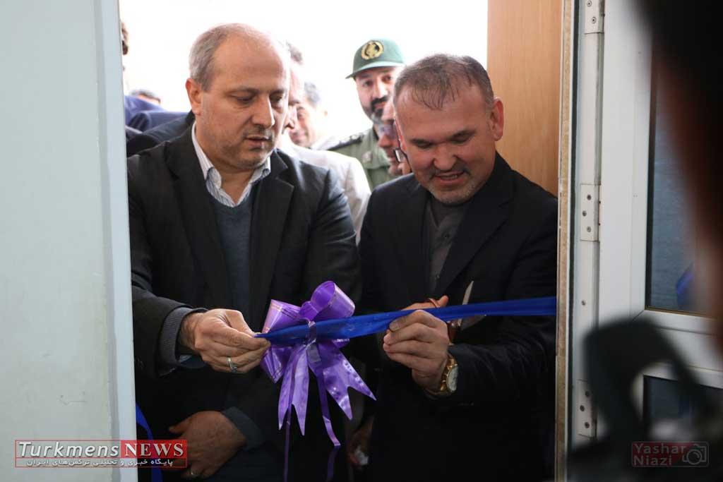 efteteh turkmensnews - آیین ارتقا روستای گلیداغ مراوه تپه به شهر برگزار شد+تصاویر