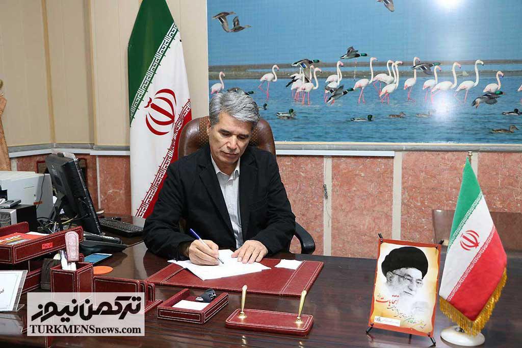 elias hivechi 2B - پیام تبریک فرماندار شهرستان ترکمن به مناسبت میلاد حضرت زینب(س) و روز پرستار