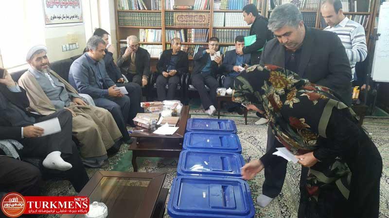 entekhabat 24d - انتخابات هیئت مدیره ۴ موسسه خیریه بیمارستان های دولتی گنبدکاووس برگزار شد