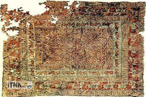 """farsh 16m 300x200 - """"پازیریک"""" قدیمیترین فرش ایرانی"""