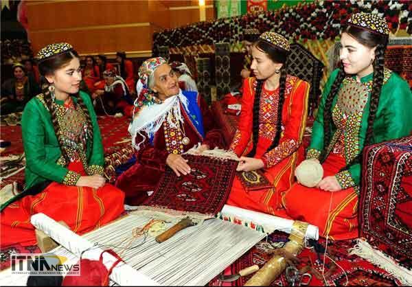 gHALIT 14M - صنعت قالی در ترکمنستان به بخش خصوصی واگذار شد