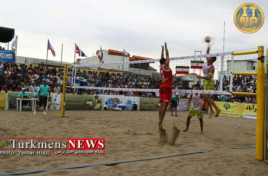 والیبالیست های گلستان عنوان پنجم در تور آسیایی قطر را کسب کردند