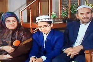 ghari3 300x200 - روایت زندگی دانشآموز حافظ کل قرآن از کوموش دفه تا دبی