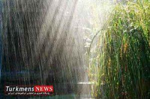 گلستان,هواشناسی,بارش باران
