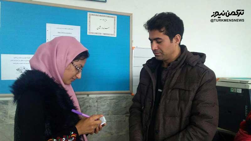 گفتگو با رحمت الله دهش موسس کتابخانه های خانگی روستایی جرگلان