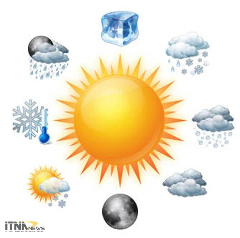 gozareshhava 12m - پیش بینی بارش برف پاییزی در مناطق کوهستانی و آبگرفتگی معابر گلستان