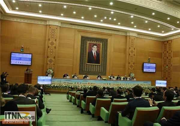 hamayesh1 12a - افتتاح همایش بینالمللی نفت و گاز ترکمنستان +تصاویر