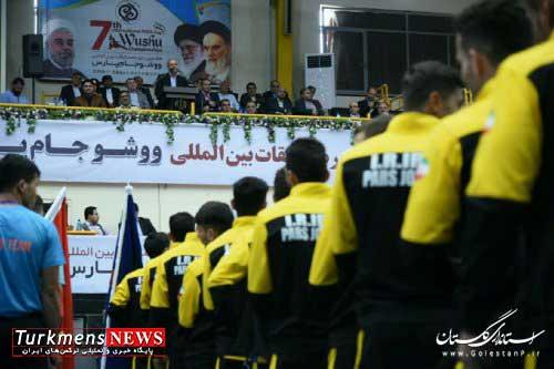 گلستان,مراسم افتتاحیه,هفتمین دوره مسابقات ووشو جام بین المللی پارس,سیدمناف هاشمی