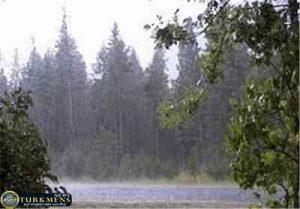 hava 13az 300x209 - از اواخر هفته سامانه سرد و بارشی وارد گلستان می شود