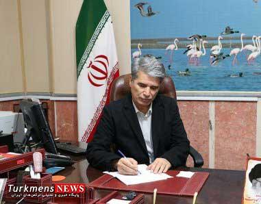 hivechi 27o - پیام تبریک فرماندار ترکمن به مناسبت حلول ماه مبارک رمضان