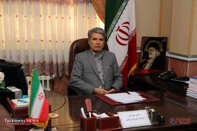 hivechi turkmen - پیام تبریک فرماندار به مناسبت هفته قوه قضاییه