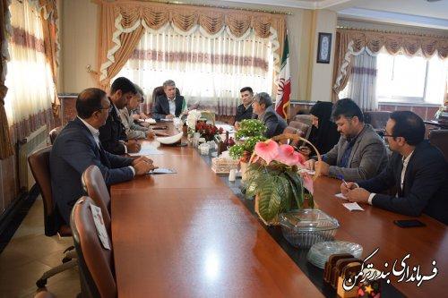 فرماندار ترکمن,جلسه شورای کشاورزی شهرستان