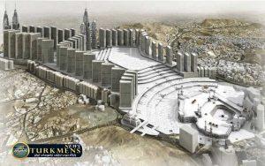 holy mosque expansion2 300x188 - بزرگترین هتل جهان در شهر مقدس «مکه» افتتاح میشود