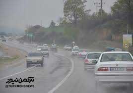 جاده های گلستان لغزنده است/رانندگان احتیاط کنند