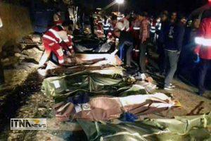 janbakhtegan 15a 300x200 - احراز هویت تمامی جانباختگان حادثه واژگونی اتوبوس تهران- گنبد در جاده سوادکوه