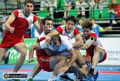 kabedi 4azar - تیم کبدی ایران مقتدرانه ترکمنستان را شکست داد