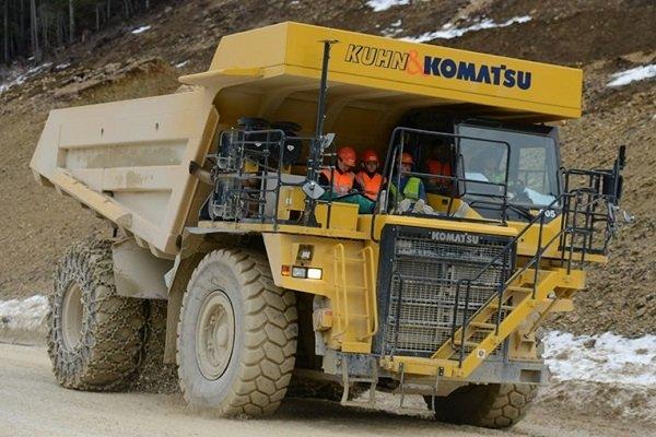 kamion komperesi 27 sh - سنگین وزن ترین وسیله نقلیه برقی جهان ساخته شد