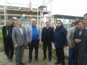 مدیر عامل شرکت توسعه و تجهیز اماکن ورزشی کشور,بندر ترکمن
