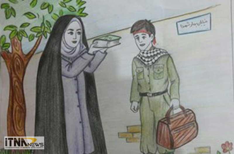ketab 12m - نخستین کتاب شعر کودک دفاع مقدس استان گلستان به زودی چاپ میشود