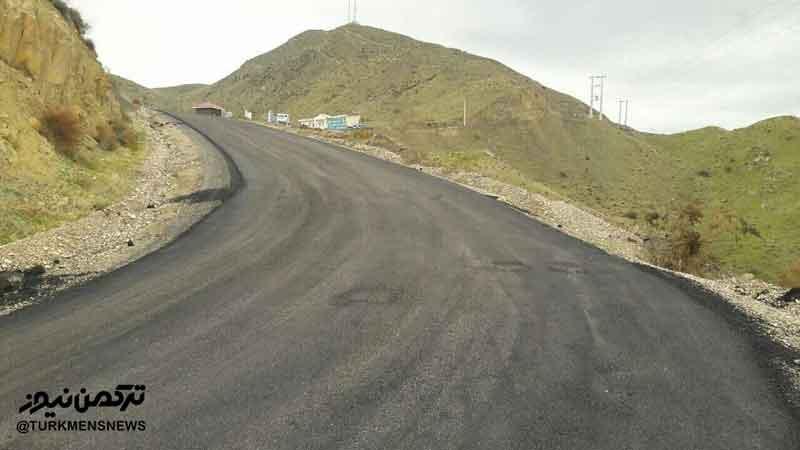 khaladnabi jade asfalt1 - آسفالت محور گردشگری خالدنبی در کلاله آغاز شد/ تصاویر