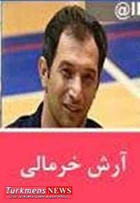khormali 28f - آرش خرمالی در تركيب تیم ملی والیبال نشسته مردان کشور